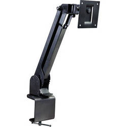 Video Mount Products LCD-2 Small Flat Panel Table/Desk Mount - Black