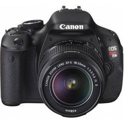 Canon EOS Rebel T3i DSLR Camera with EF-S 18-55mm IS II Lens Kit