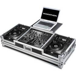 Marathon Coffin Case For 2 Pioneer CDJ2000 CD Players & DJM-2000 Mixer (Black)