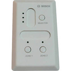 Bosch Plena PLEWP3S2ZUS Remote Selection Wall Panel (White)