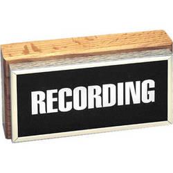 TecNec TWL-2 Horizontal Studio Warning Light Silver Accents - Recording
