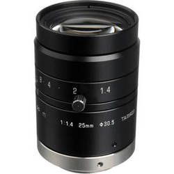 "Tamron 2/3"" 25mm f/1.4 C-Mount Manual Iris Lens for Megapixel Cameras"