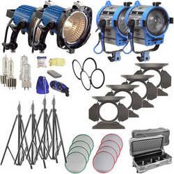 ARRI ARRILITE / Fresnel Tungsten 4 Light Combo Kit (120V AC)