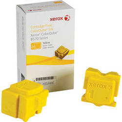 Xerox 108R00928 Colorqube Ink Yellow Cartridges (2 Sticks)