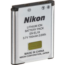 Nikon EN-EL19 Lithium-Ion Battery (700mAh)