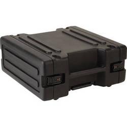 "SKB 1SKB-R4W 4U Roto Rolling Rack (24.6 x 10.8 x 24"", Black)"