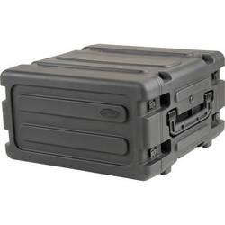 """SKB 4U Roto Shockmount Rack Case (20"""" Deep,4 Rack Spaces, Black)"""