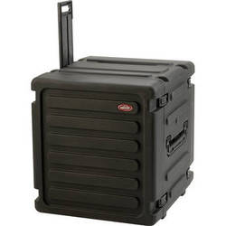 "SKB 12U Roto Shockmount Rack Case (20"" Deep, 12 Rack Spaces, Black)"