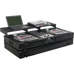 Odyssey Innovative Designs Remixer Glide Style Series CD/Digital Media DJ Coffin (Black)
