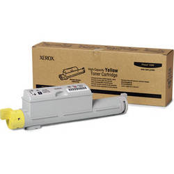 Xerox High Yield Yellow Toner For Phaser 6360 Color Printer