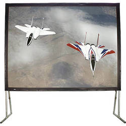 "HamiltonBuhl BFF-120160 Easy Fold Portable Projection Screen (120 x 160"")"