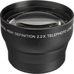 Digital Concepts 2.2x Telephoto Lens (58mm, Black)