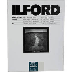 """Ilford Multigrade IV RC Deluxe MGD.44M Black & White Variable Contrast Paper (11 x 14"""", Pearl, 10 Sheets)"""