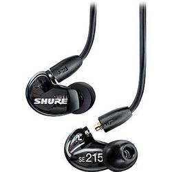 Shure SE215 Sound-Isolating In-Ear Stereo Earphones (Black)