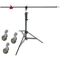 Manfrotto 085BS Heavy-Duty Boom and Stand (Black)