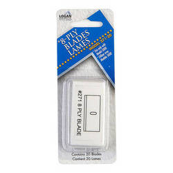 Logan Graphics 271-20 Replacement Blade (Pack of 20)