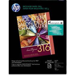 "HP Inkjet Matte Brochure Letter Paper (8.5 x 11"")"