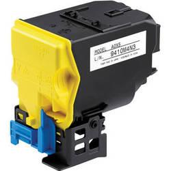 Konica High Capacity Yellow Toner Cartridge For MC4750