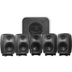Genelec 8030A Broadcast Pack 5.1 Surround Sound System (Black)
