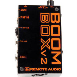 Remote Audio Boom Box V2