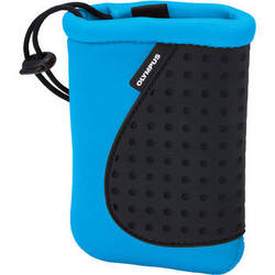 Olympus Neoprene Silicon Soft Pouch for Stylus Tough-3000 Cameras (Blue)