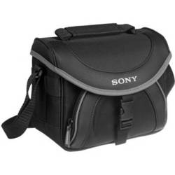 Sony LCS-X20 Soft Carrying Case for Camcorders (Black with Grey Trim)