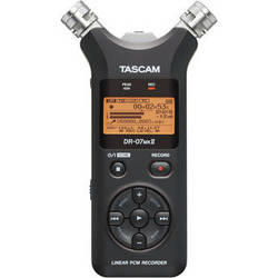Tascam DR-07mkII Portable Digital Audio Recorder