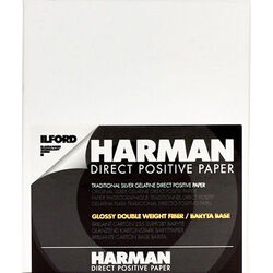 "Ilford Harman Direct Positive Fiber Based (FB) Paper (Emulsion IN, 24"" x 66' Roll)"