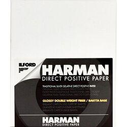 "Ilford Harman Direct Positive Fiber Based (FB) Paper (Glossy, 5 x 7"", 25 Sheets)"