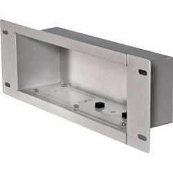 Peerless-AV IBA3-W Recessed Cable Management and Power Storage Accessory Box