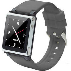iwatchz Q Collection Watch Band for 6th Generation iPod nano (Gray)