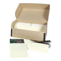 Archival Methods Film Storage System with Polyester  Sleeves