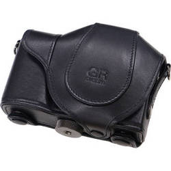 Ricoh Soft Case GC-4A for the GR Digital III Camera with GV-2 Mini Viewfinder (Black)
