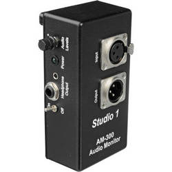 Studio 1 Productions AM-300 Headphone Monitor Amplifier for Boom Operators