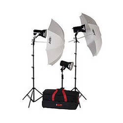 Smith-Victor KQ83 3-Light 1,800 Watt Ultra Quartz Location Kit (120-240VAC)