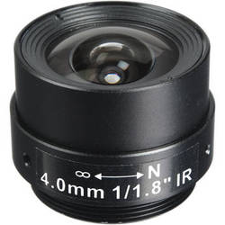 Arecont Vision CS-Mount 4.0mm Fixed Focal Megapixel Lens