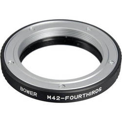 Bower M42 Body Screw Adapter for Olympus 4/3 Camera