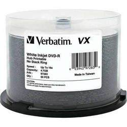 Verbatim DVD-Recordable Discs (50-pack Spindle)