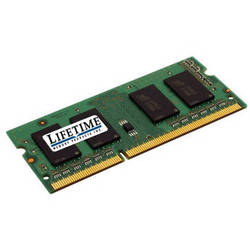 Lifetime Memory 8GB SO-DIMM DDR3 Memory for Notebooks (1x8GB)