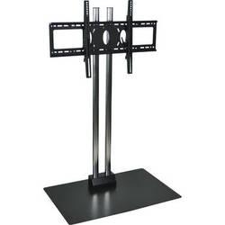 "H. Wilson WPSMS44CH  44"" Flat Panel Display Floor Stand  (Chrome)"