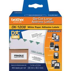 Brother DK1208 Large Address Paper Labels (400 Labels)