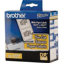 Brother DK1221 Square Paper Labels (1000 Labels)