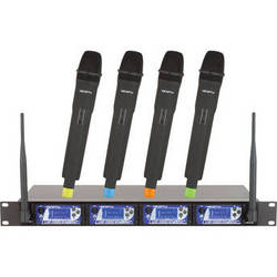 VocoPro UHF-5900 UHF PLL Wireless Mic System with Frequency Scan
