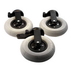 "Digital Juice Orbit Dolly 8"" Pneumatic Wheel Set"