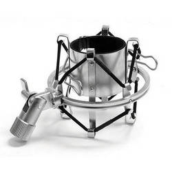 MXL MXL-57-Silver High-Isolation Microphone Shock Mount (Silver)