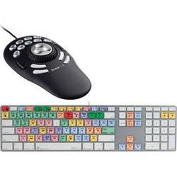 LogicKeyboard Logic Keyboard Apple Final Cut Pro Keyboard with Contour ShuttlePRO v2