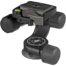 Manfrotto 460MG 3D Magnesium Head with RC2 Quick Release - Supports 6.6 lbs (3kg)