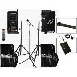 AmpliVox Sound Systems B9154-HHL Platinum Digital Audio Travel Partner PA Package