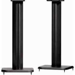 """SANUS 24"""" MDF Construction Speaker Stand (Black, Pair)"""