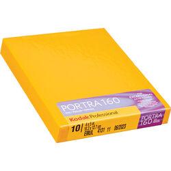 """Kodak 4 x 5"""" Portra 160 Color Film (10 Sheets)"""